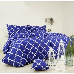 Bavlnené obliečky Dolce modré