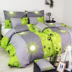 Bavlnené obliečky Tilia zelené