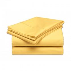 Krížna plachta 140x70 cm žltá