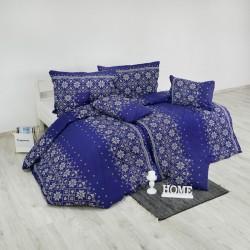 Bavlnené obliečky Etno modré