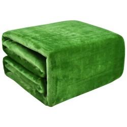 Deka zelená 150x200 cm