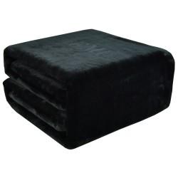 Deka čierna 150x200 cm