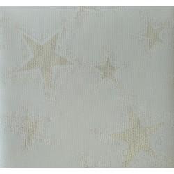 Obrus vianočný zlatá hviezda