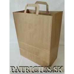 Papierová taška hnedá, 1000 ks