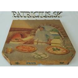 Pizza kartón s potlačou...