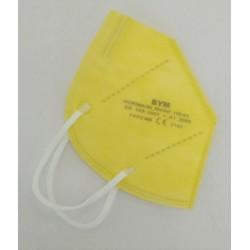 BYM respirátor FFP2 žltý, 1 ks