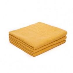 Uterák bavlnený 50x100, žltý