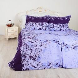 Krepové obliečky Art fialové