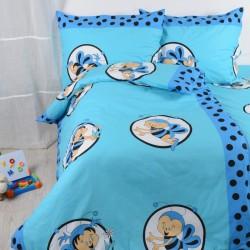 Detské obliečky včielky modré